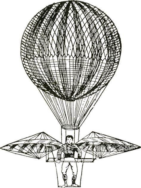 vintage images hot air balloons steampunk