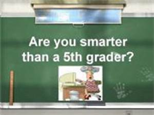 esl english powerpoints are you smarter than a 5th grader With are you smarter than a 5th grader powerpoint template