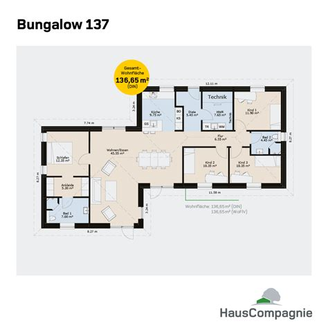 bungalow grundrisse bungalow bauen mit hauscompagnie