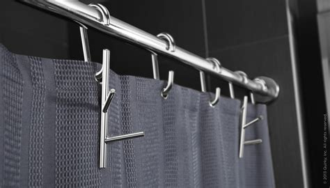 branch shower curtain rings with hooks homecrux