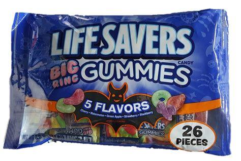 Lifesaver Gummies Big Ring Nutrition Facts