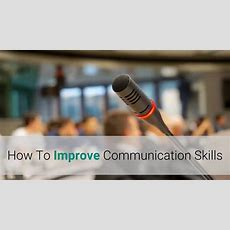 How To Improve Communication Skills Youtube