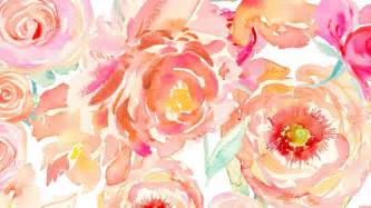 peony flower watercolor wallpaper and lock screen downloadsmomental designs