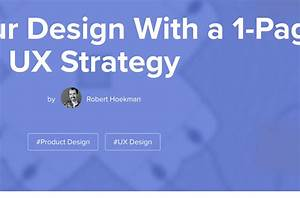 Guide Your Design With A 1