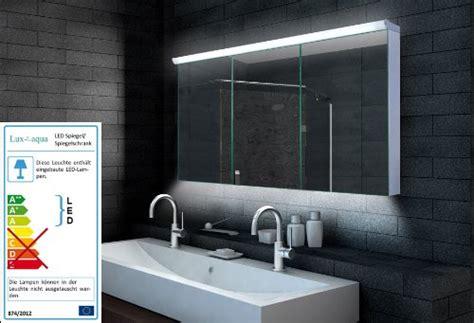 Badezimmer Spiegelschrank Mit Beleuchtung 140 Cm by Led Spiegelschrank Bad Badezimmer Spiegelschrank Mit Led