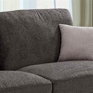 amington chenille fabric dark grey mole sofa collection With grey chenille sectional sofa