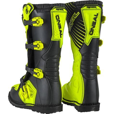 cheap motocross boots oneal new 2018 mx rider cheap dirt bike hi viz fluro