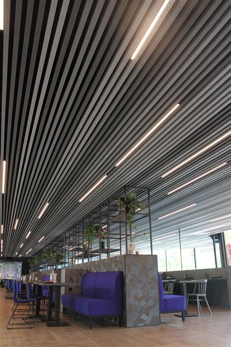 heartfelt modular felt ceiling system redefines ceilings  unique texture  soft appearance