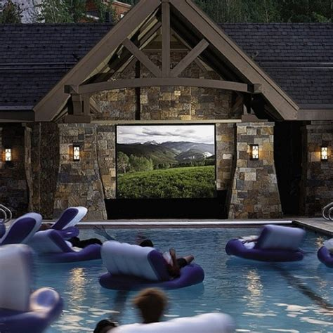 Backyard Home Theater by 15 Outdoor Home Theater Pictures