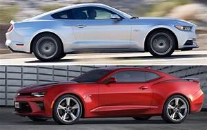 El Chevrolet Camaro y el Ford Mustang se enfrentan -Conduciendo.com