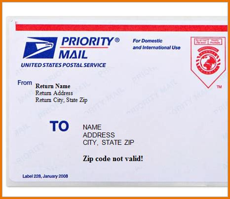 Usps Shipping Label Template Usps Shipping Label 228 Template Design Prioritynode