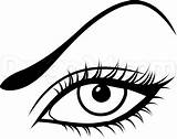 Eye Makeup Gothic Draw Easy Coloring Step Drawing Eyes Sketch Pages Template sketch template