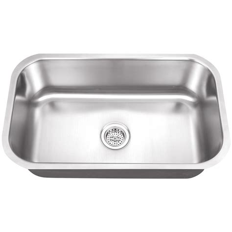undermount stainless sinks kitchen sinks ipt sink company undermount 30 in 16 stainless 8737