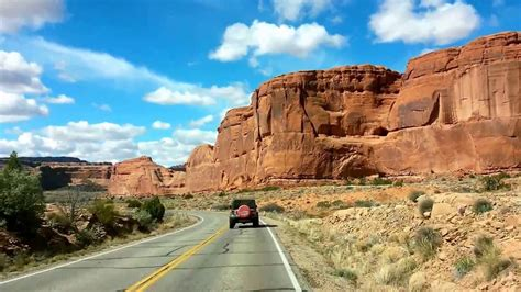 Jeep Road Trip Arches National Park Moab Utah Youtube