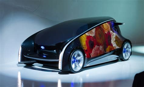 future cars toyota fun vii concept which displays
