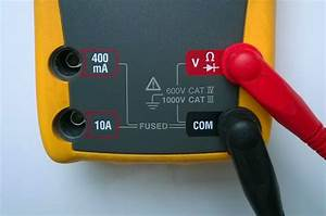 How To Use A Digital Multimeter  Dmm  To Measure Voltage