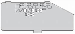 Toyota Iq  2008 - 2015  - Fuse Box Diagram