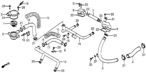 bass end ackwards honda v45 magna water pipe thermostat