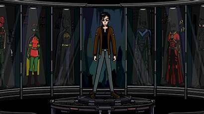 Batman Beyond Suit Studios Deviantart Suits Batcave