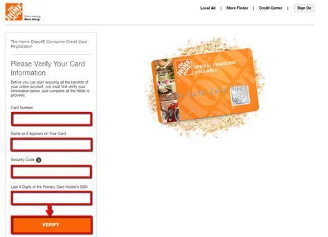 Home Depot Credit Card Login : Home Depot Credit Card Login