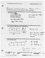 Nys common core mathematics curriculum lesson 9 homework answers
