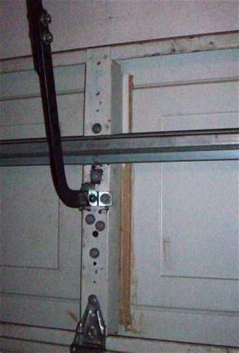 garage door operator bracket repair garage doors do it yourself and doors on