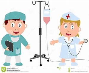 Kids And Jobs - Medicine [1] Stock Photo - Image: 7301740