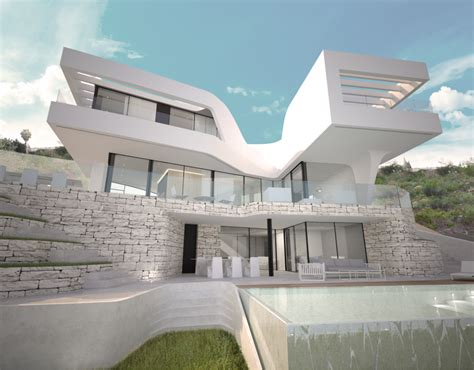 High Tech Equipped Villa With Excellent Architecture In Javea