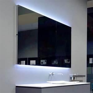 Spiegel Weißer Rahmen : antoniolupi flash100 spiegel mit polierter kante und wei er led beleuchtung breite 144 cm ~ Indierocktalk.com Haus und Dekorationen