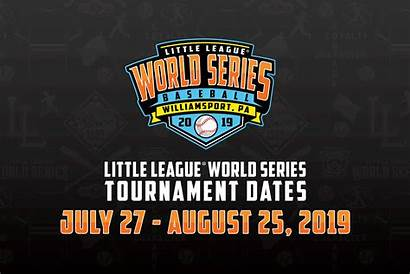 League Series Dates Logos Tournaments Baseball Schedule