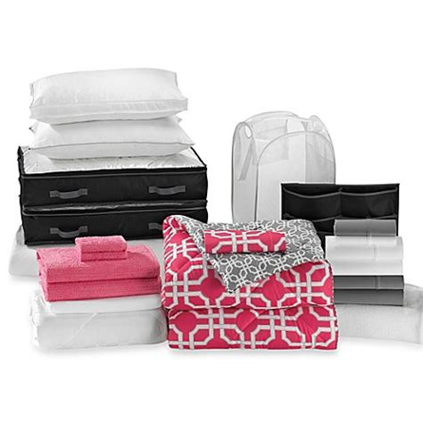 Quinn 22piece Ultimate Dorm Room Kit  Bed Bath & Beyond