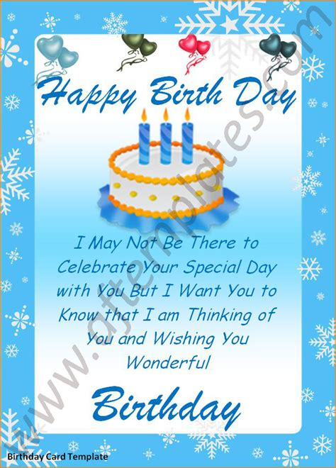 word birthday card template teknoswitch