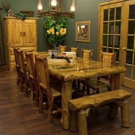 the great rustic dining room decor for family