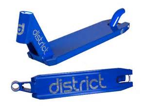 district dk1 v3 deck from district pro scooters at gryndoscooters