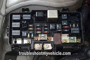 2005 Honda Civic Under Hood Fuse Box