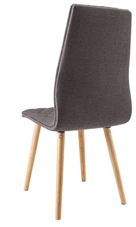 chaise bois gris chaise salle a manger bois et tissu bricolage maison et