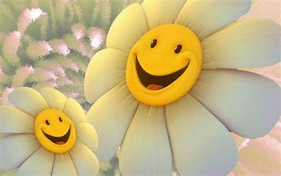Flowers Happy Flower Clip Animated Clipart Face