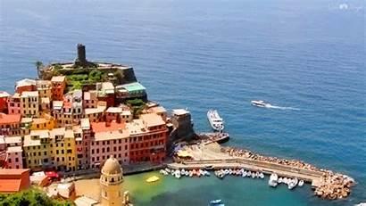 Italy Italian Terre Gifs Cinque Cinemagraph Amalfi