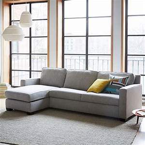 henryr 2 piece pull down full sleeper sectional w storage With sectional sleeper sofa west elm