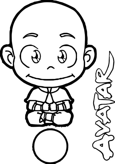 Avatar The Coloring Pages Coloring Home Avatar Aang Up Coloring Page Wecoloringpage