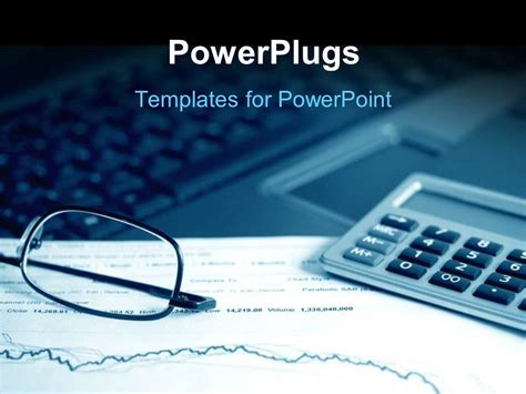 finance powerpoint template powerpoint template analysis of the financial information on stock market reports 27463