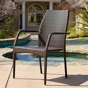 Noble, House, Canoga, Multi, Brown, Wicker, Outdoor, Dining, Chairs, Set, Of, 2, -238218