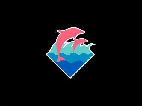 pink dolphin logo wallpaper gallery