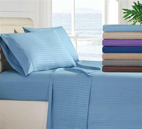 egyptian comfort  piece deep pocket bed sheet set