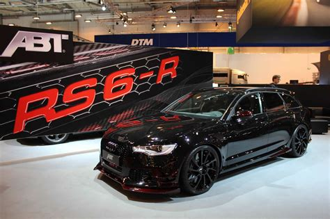 ABT RS6 R live images from Essen Motor Show