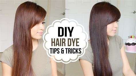 dye hair  home coloring tips tricks vohairblog