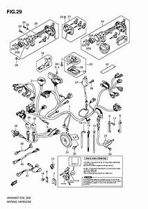 Wiring Harness For 2007 Suzuki An400