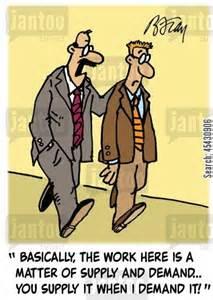 Demand Management Cartoons