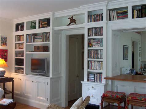 bookcase built  media cabinet