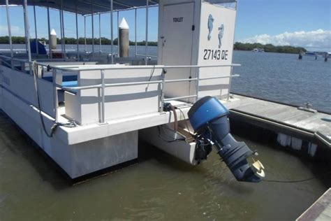 Used Pontoon Boats For Sale Qld pontoon boat in survey power boats boats for